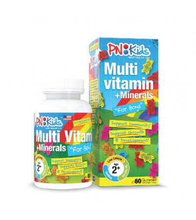 PNKids Multi vitamins  Minerals Gummies for Boys - Children's Vitamins