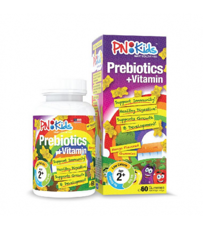 PNKids Prebiotics for Kids + Vitamins (Mango Flavor) 60s