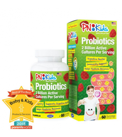 PNKids Probiotics Gummies Supplement for Kids and Children (60s)