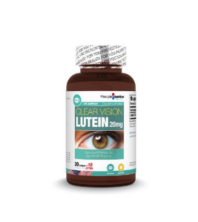 Principle Nutrition Clear Vision Lutein 20mg (40s)