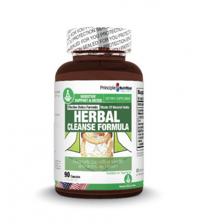 Principle Nutrition Herbal Cleanse Formula (90s)