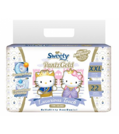 Sweety PantzGold Luxurious Touch Diapers