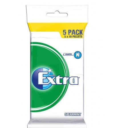 Wrigley's Extra Spearmint 5-pack 70g
