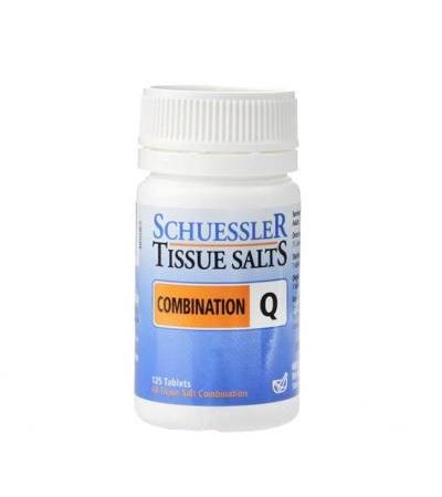 Schuessler Combination Q Tissue Salts 125 Tablets