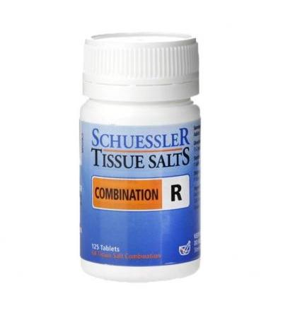 Schuessler Combination R Tissue Salts 125 Tablets