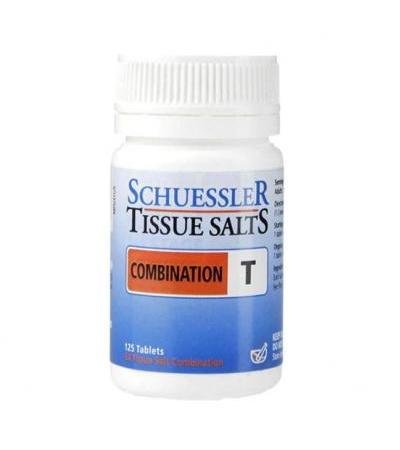 Schuessler Combination T Tissue Salts 125 Tablets