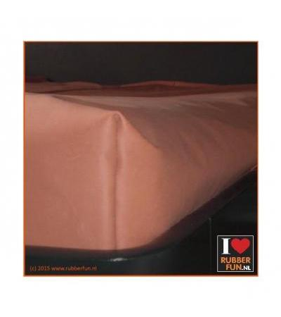 FITTED SHEET Clinical red Single bed 0.45 mm