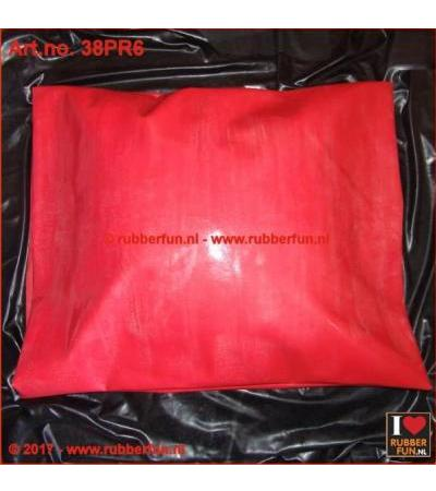 PILLOW CASE - clinical red natural rubber 51х76 cm 0,65 mm