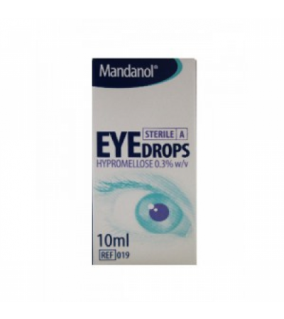 Hypromellose Sterile Eye Drops 0.3% x 10ml