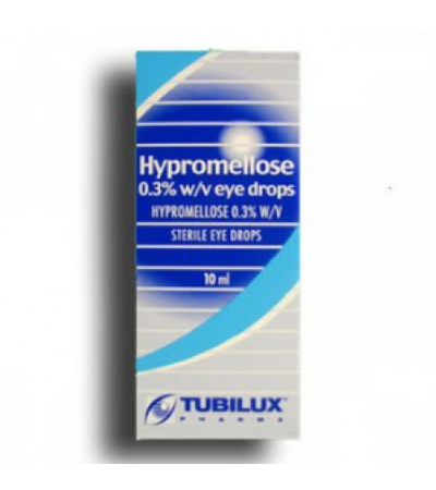 Hypromellose Eye Drops 0.3% w/v 10ml