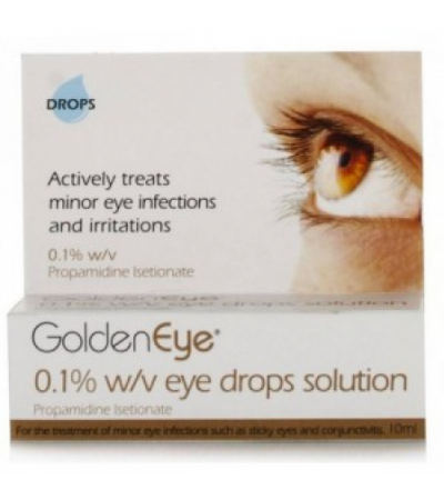 Golden Eye 0.1% w/v Eye Drops Solution 10ml