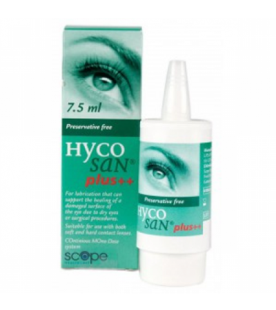 Hycosan Plus++ Eye Drops 7.5ml