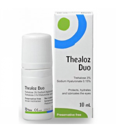 Thealoz Duo Eye Drops - 10ml