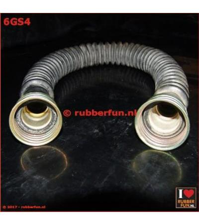 GAS MASK HOSE - 2X FEMALE CONNECTOR