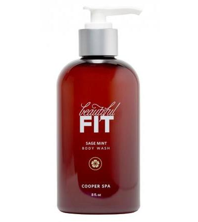 Beautiful Fit Sage Mint Body Wash – 8 oz
