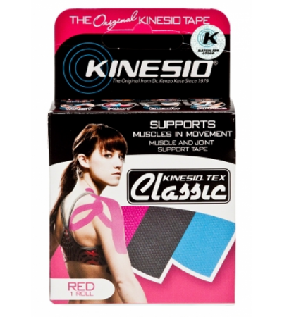 "KINESIO TEX CLASSIC - 2"" RED"