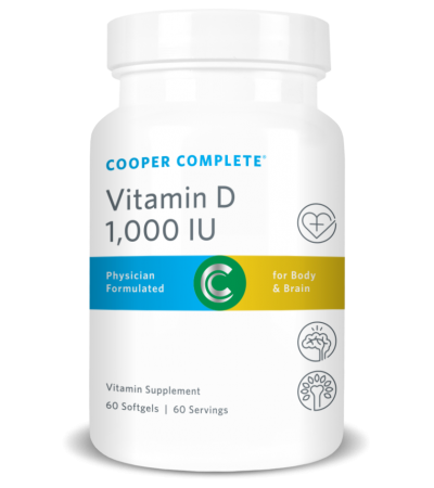 Vitamin D3 Softgels – 1,000 IU