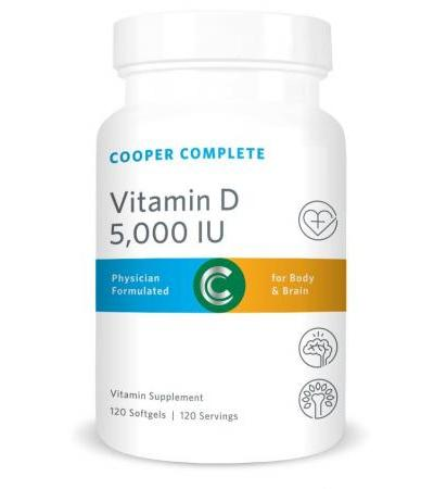 Vitamin D3 Softgels – 5,000 IU